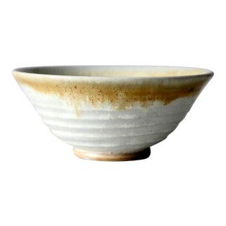 Vintage Signed Studio Pottery Bowl For Sale