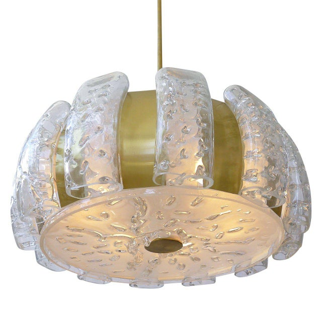 Mid-Century Modern Mid-Century Ceiling Pendant by Doria For Sale - Image 3 of 6