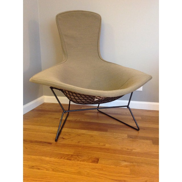 Harry Bertoia Harry Bertoia for Knoll Bird Chair & Ottoman For Sale - Image 4 of 10