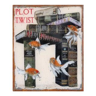 """Plot Twist"" Original Artwork by Carl Smith For Sale"