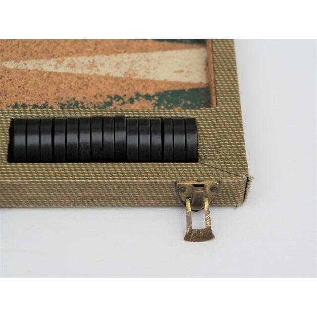 Vintage Backgammon Set For Sale - Image 4 of 13