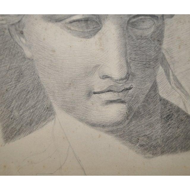 Exceptional 19th Century Romanesque Portrait - Image 3 of 4