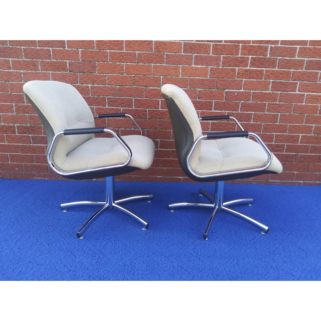 1980s 1980's Vintage Steelcase Chair For Sale - Image 5 of 12