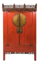 Image of Brass Armoires Wardrobes and Linen Presses