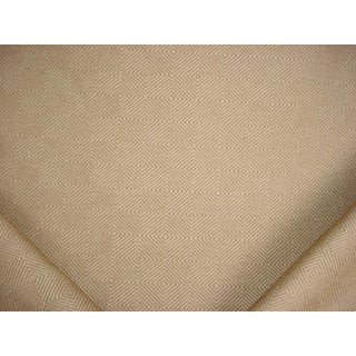 4-1/8y Cowtan Tout 11051 Darby Toffee Diamond Lattice Drapery Upholstery Fabric For Sale