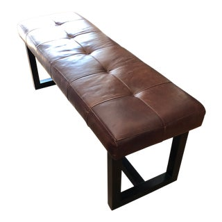 Ralph Lauren Leather Bench
