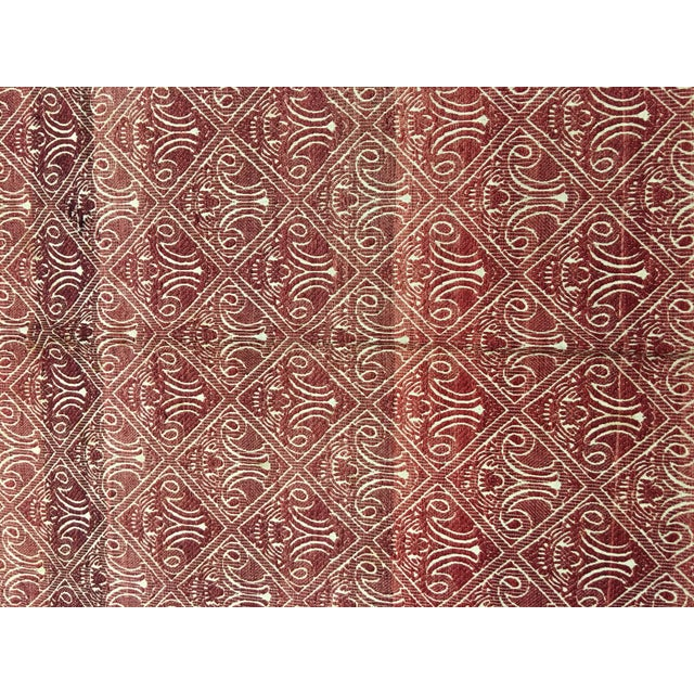 "Bellwether Rugs Turkish Flat Weave Kilim - 4'10"" X 10'5"" - Image 4 of 7"