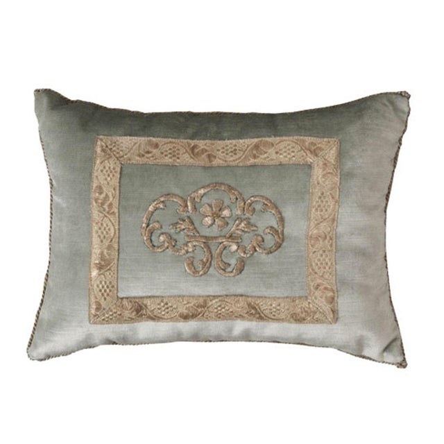 Antique Textile Pillow By B.Viz Designs - Image 8 of 8