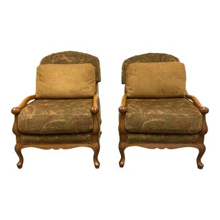 Impact International Open Frame European Lounge Chairs - a Pair For Sale