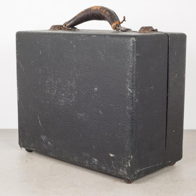 Black Antique Stenograph With Original Case/Manual C.1933 For Sale - Image 8 of 10