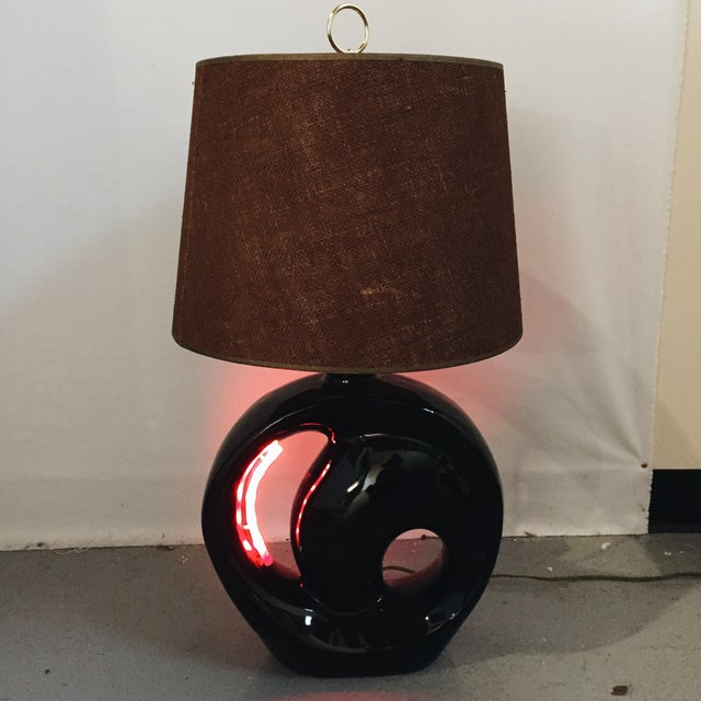 Mid-Century Sculptural Table Lamp - Image 2 of 5