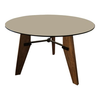 A&g Merch Handmade Wood & Iron Table For Sale