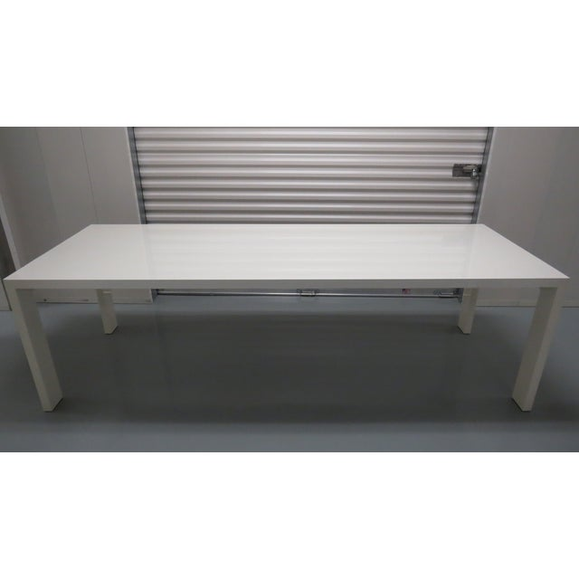 Jasper Morrison for Cappellini White Lacquered Dining Table - Image 2 of 8