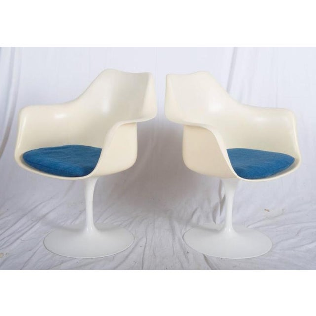 - Pair of armchairs Tulip chairs, model 151 - Designed by Eero Saarinen in the 1950s - Early production, most likely 1960s...