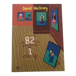 David Hockney 82 Portraits & 1 Still Life, Hardcover 2016 For Sale