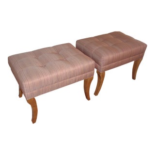 Ethan Allen Wellesly Benches - A Pair