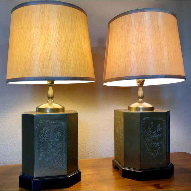 Frederick Cooper Style Table Lamps - a Pair For Sale - Image 13 of 13