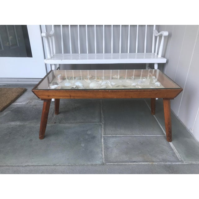20th Century Americana Beachcomber Pine Coffee Table For Sale - Image 13 of 13