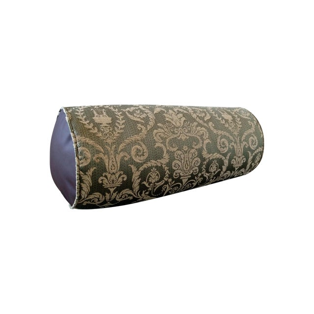 Green Deneen Collection Bolster Pillow - Image 1 of 6