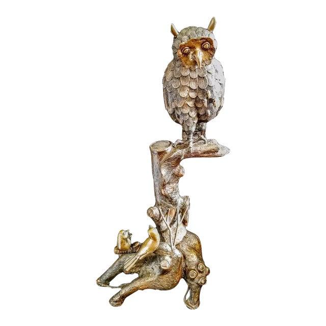 Brass Owl Figureine - Image 1 of 4