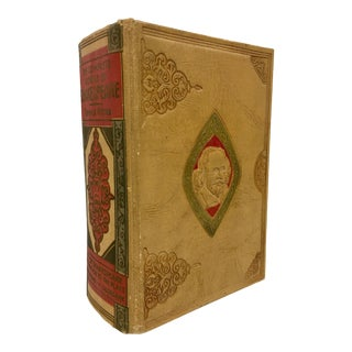 Antique Shakespeare Leather Bound Book For Sale
