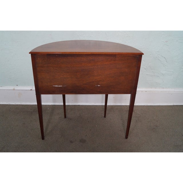 Baker Furniture Demilune Console - Image 4 of 10