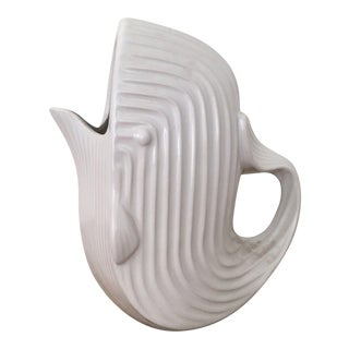 Jonathan Adler Signed White Whale Pitcher