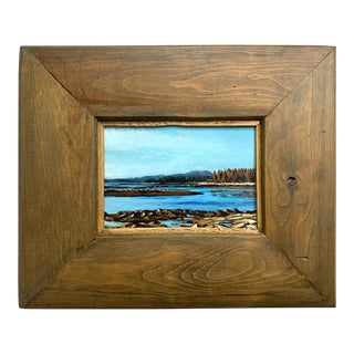 "Coastal Maine Landscape Painting ""Wonderland"" by Jeb Knight For Sale"