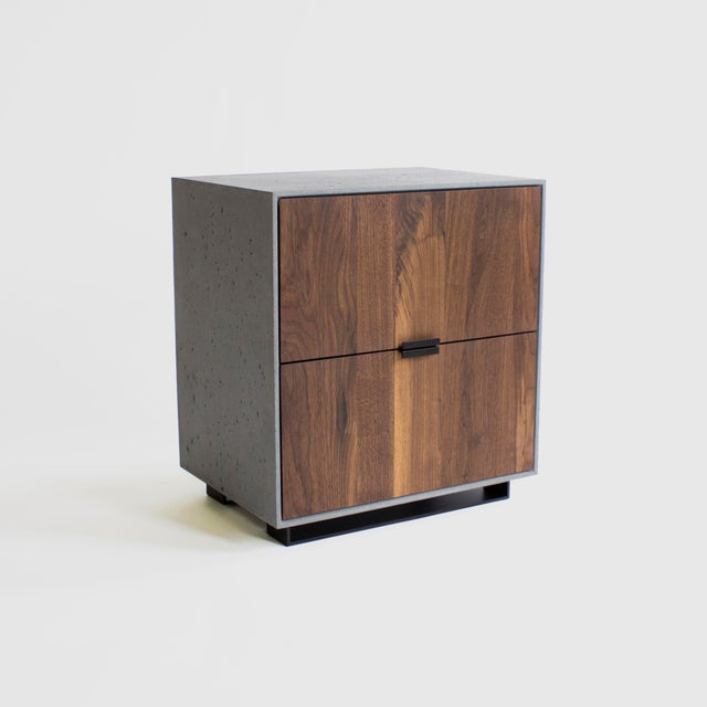 Hanks Concrete Nightstand For Sale - Image 10 of 10
