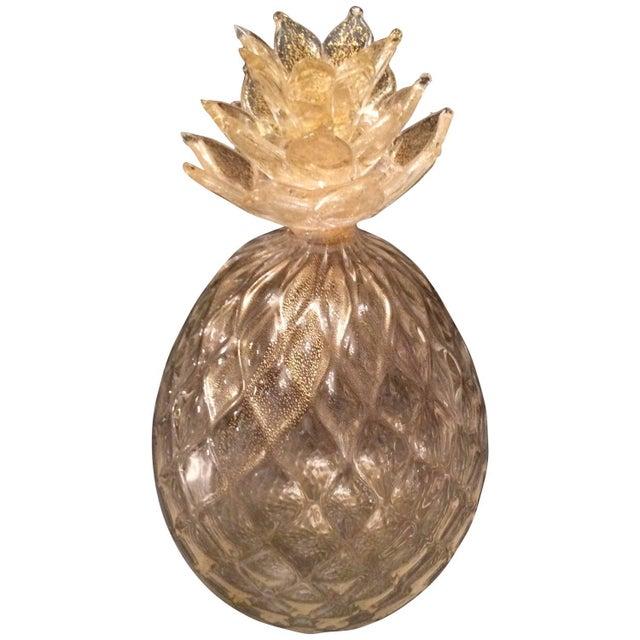 Seguso Gold Murano Pineapple - Image 1 of 2