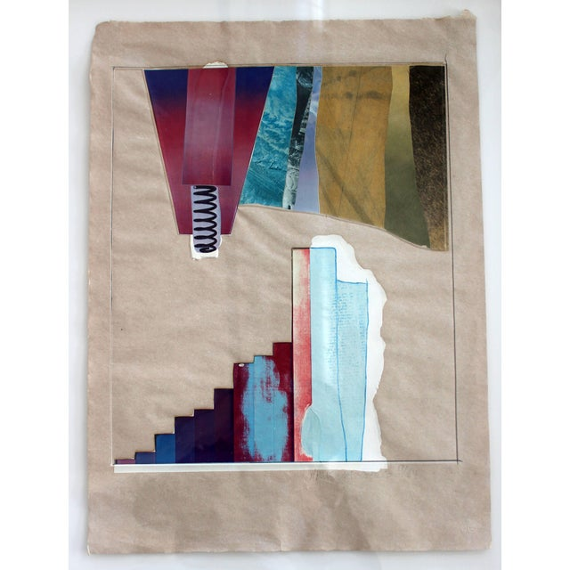 Robert Rauschenberg Mid-Century Modern Rauschenberg Signed Abstract Print Dated 1970s Numbered For Sale - Image 4 of 7