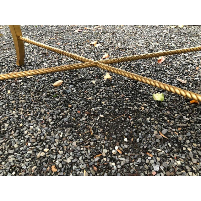 Amy Howard Inlaid Wood Coffee Table For Sale In West Palm - Image 6 of 12