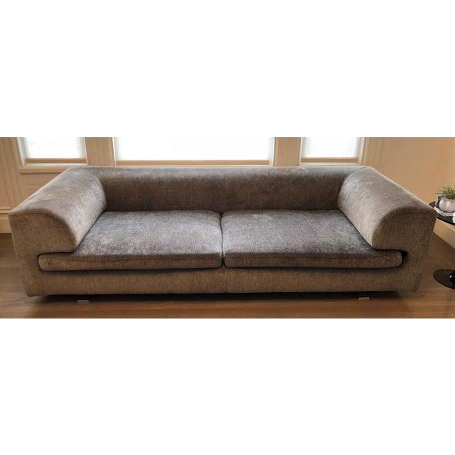 Fabric Roche Bobois Elixir Model Upholstered 4-Seat Sofa For Sale - Image 7 of 9