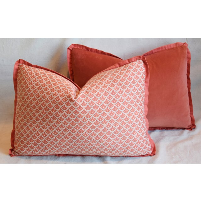 "Italian Marion Fortuny Canestrelli Feather/Down Pillows 23"" X 17"" - Pair For Sale - Image 11 of 13"