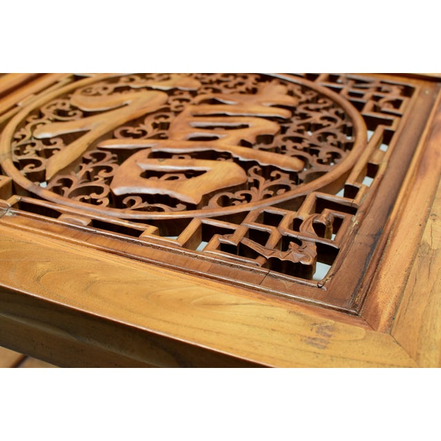 Chinese Solid Wood Coffee Table For Sale - Image 10 of 13