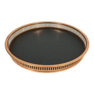 Round Copper Gallery Tray