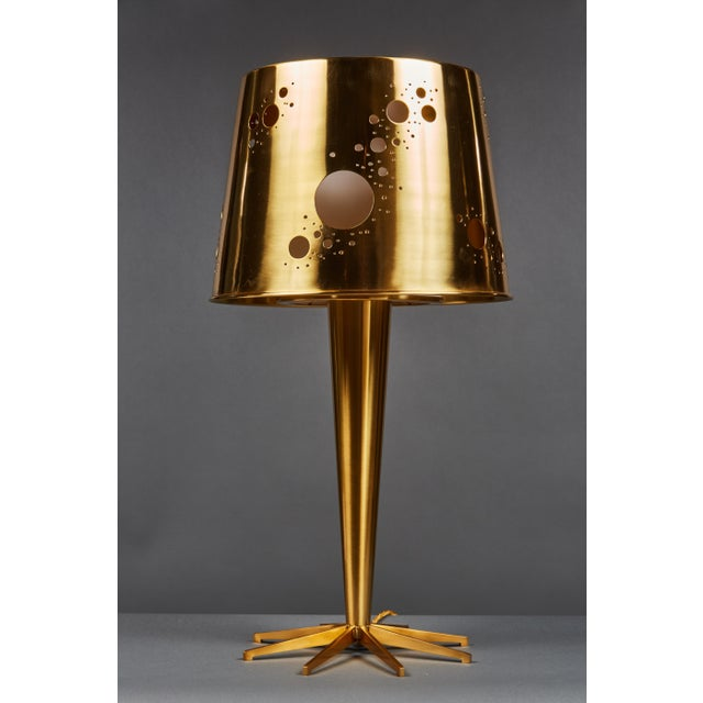 """Early 21st Century Pair of Roberto Giulio Rida """"Lattea"""" Table Lamps For Sale - Image 5 of 12"""