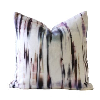 Purple Rain Designer Down Pillow