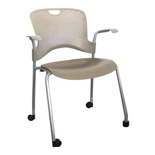 Modern Herman Miller Caper Grey Armchair For Sale