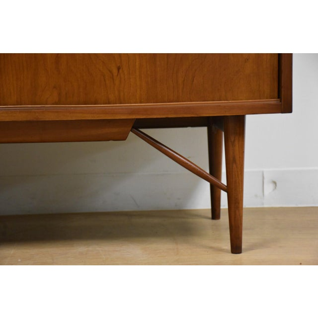 Solid Cherry Credenza by Kipp Stewart and Stewart MacDougall For Sale - Image 9 of 11