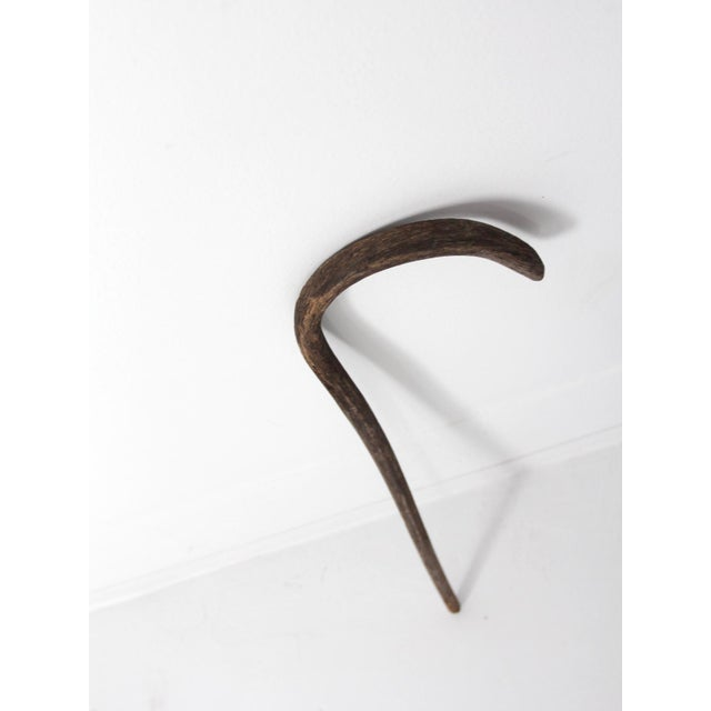 Brown Antique Walking Stick For Sale - Image 8 of 11