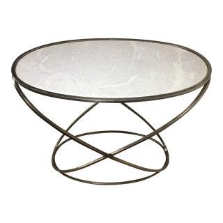 Granite Topped Designer Elliptical Console Table