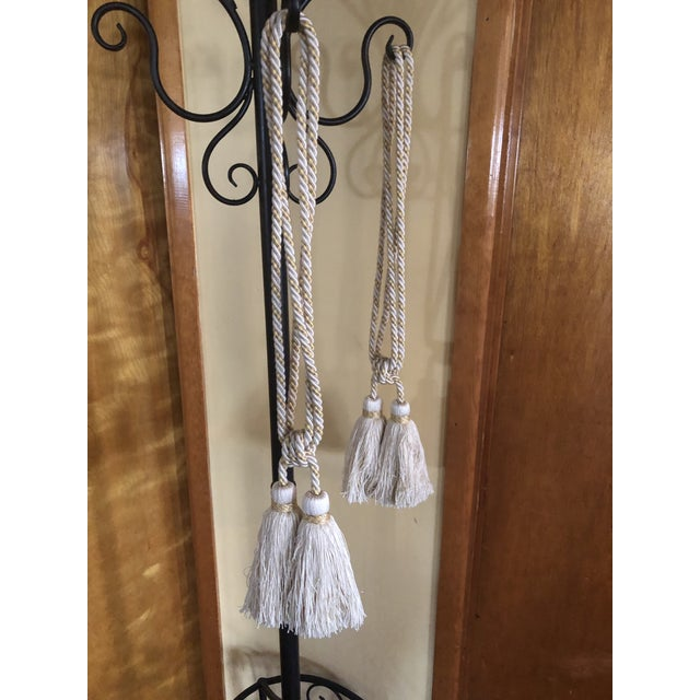 Samuel & Sons Double Tie Back Tassels - a Pair For Sale - Image 4 of 5