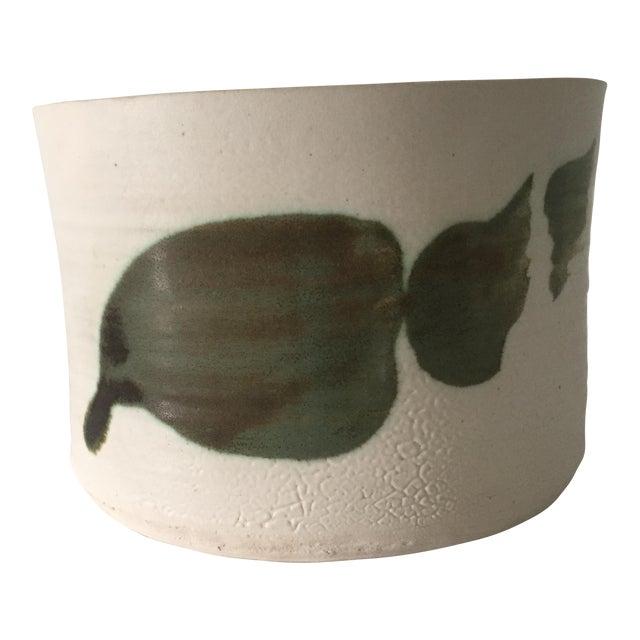 1970s Vintage Nancy Zager Leaf Bowl For Sale
