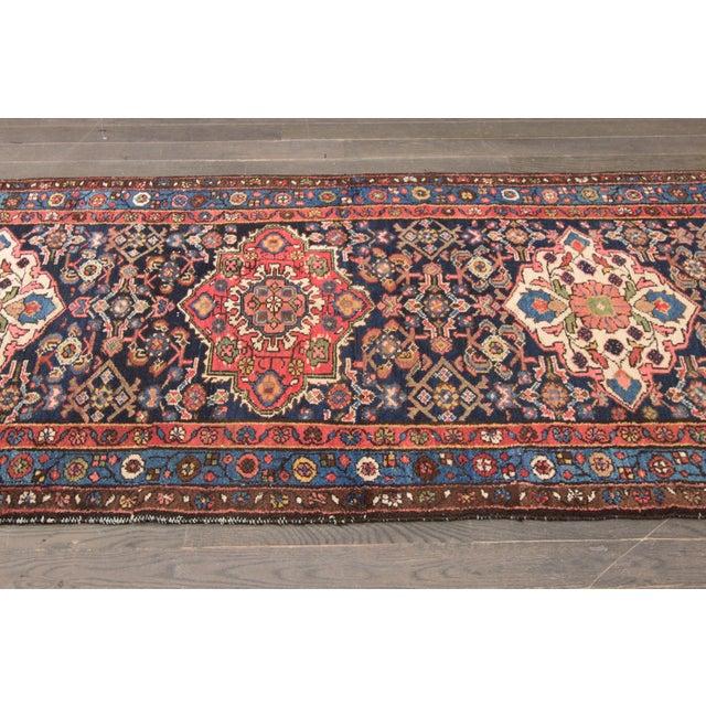 """Vintage Apadana Persian Rug -- 3'2"""" x 13' - Image 4 of 4"""