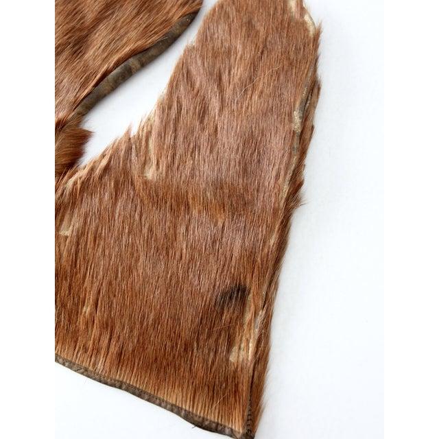 Antique Fur Mitten Gloves - A Pair - Image 4 of 5