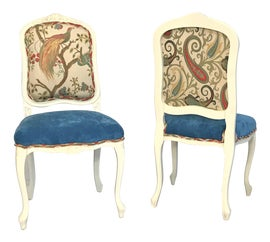 Image of Velvet Dining Chairs