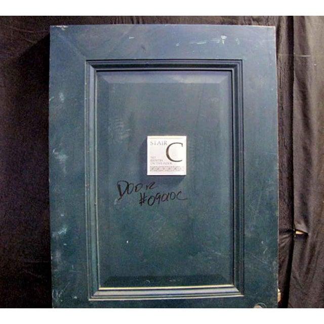Reclaimed Metal Two Panel Fire Door - Image 3 of 5
