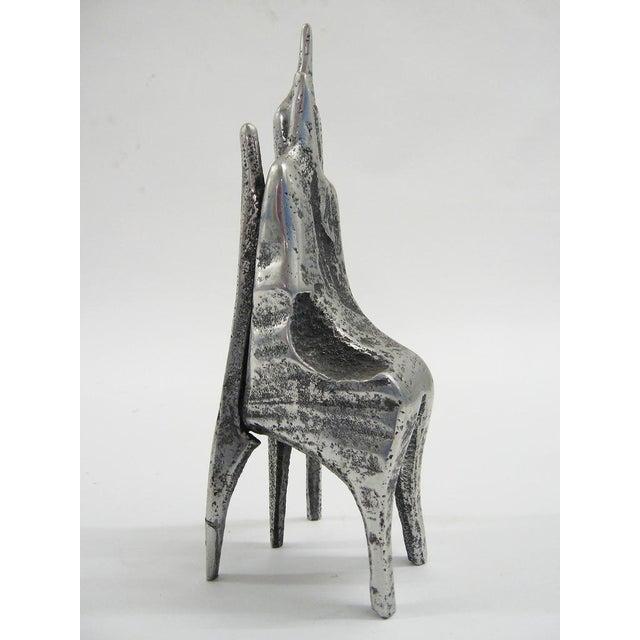 Aluminum sculpture by Aharon Bezalel - Image 4 of 8