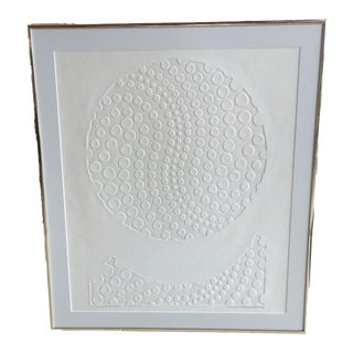 "David Garry Partridge ""White #1"" Print"